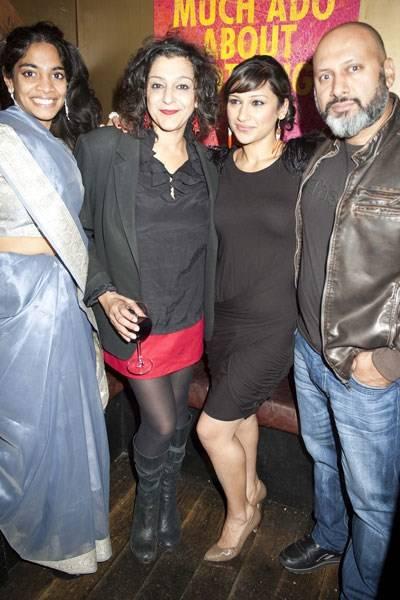 Amara Karan, Meera Syal, Chetna Pandya and Simon Nagra