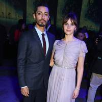 Riz Ahmed and Felicity Jones