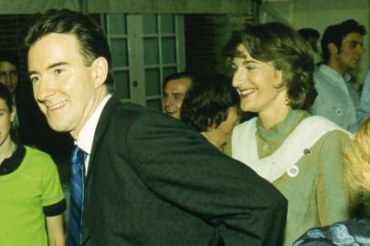 Peter Mandelson and Mrs Mark Seligman