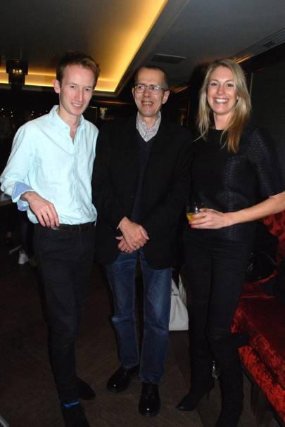 Matthew Bell, John Haney and Clare Ferguson