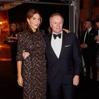 Clara Francis and Jason Watkins