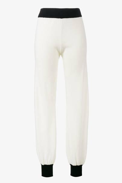 Gucci cashmere track pants