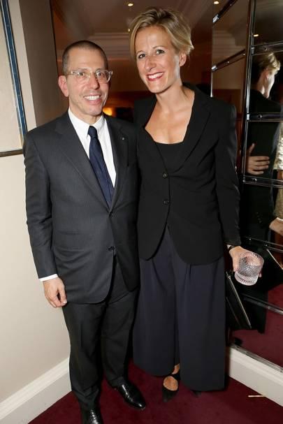 Jonathan Newhouse and Anoushka Borghesi