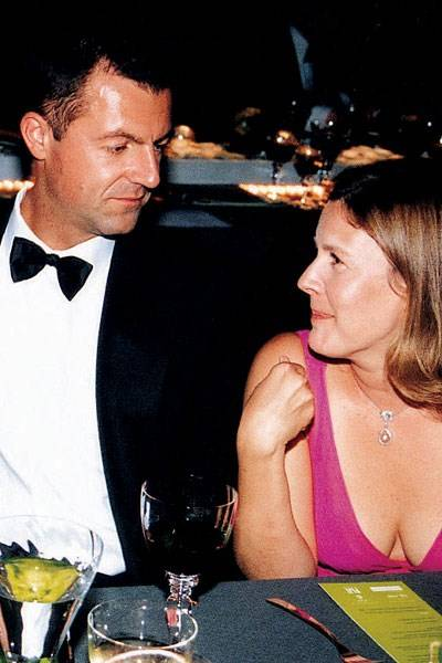Michael Platt and Mrs Vito Santoro