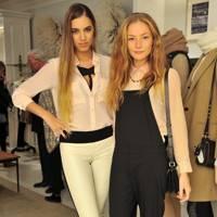 Amber Le Bon and Clara Paget
