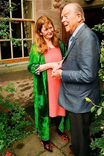 Helen Murray Threipland and Sir Jack Stewart Clark