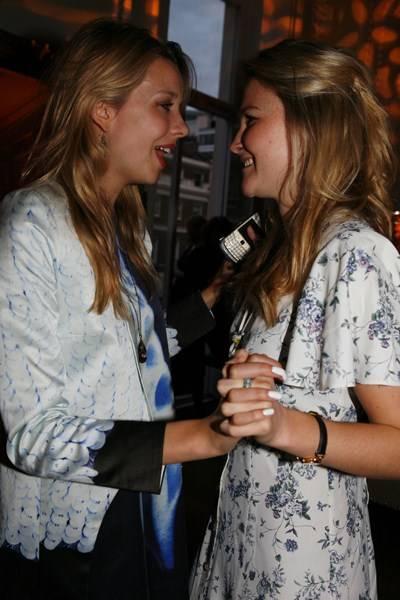 Greta Bellamacina and Amber Atherton