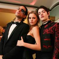 Sebastian Faena, Paige Reifler and Harry Brant
