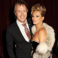 Rhys Ifans and Kate Moss