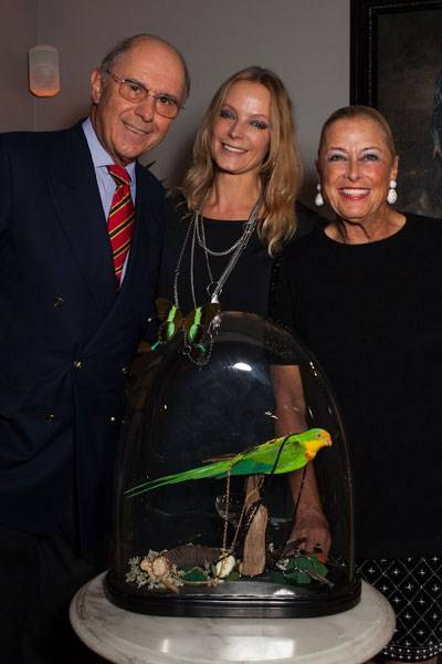 Dieter Siempelkamp, Didi Ilse and Gabi Siempelkamp