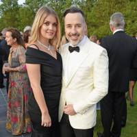 Lady Kitty Spencer and David Furnish
