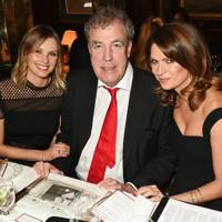 Malin Jefferies, Jeremy Clarkson and Gabriela Peacock