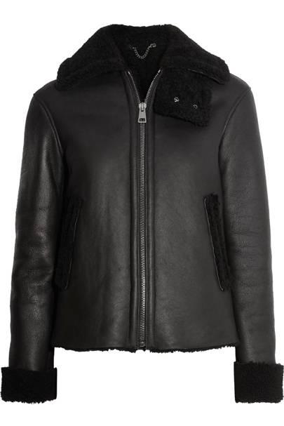 Iris & Ink shearling jacket