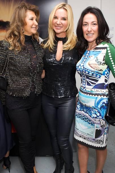 Juliette Owide, Jacqui Brantjes and Katrina Shalit