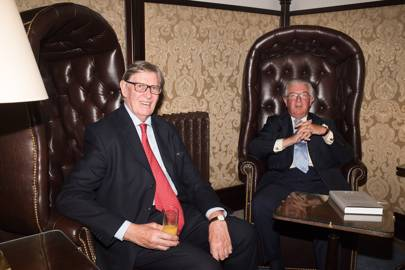 Sir William Cash and Lord Magan