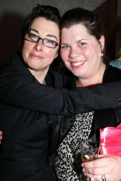Sue Perkins and Katy Brand