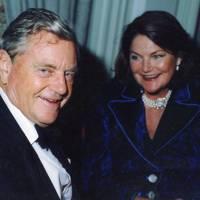 Malcolm Kimmins and Mrs Anthony Oppenheimer