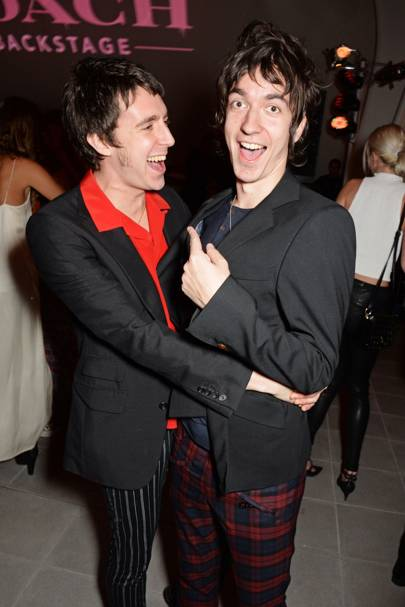 Miles Kane and Jeff Wootton