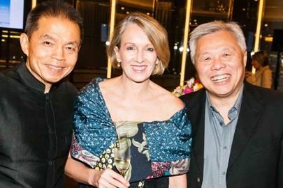 Krip Rojanastien, Karen Campbell and Kah Ho Wong