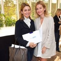Clare Reid and Laura Pigorini