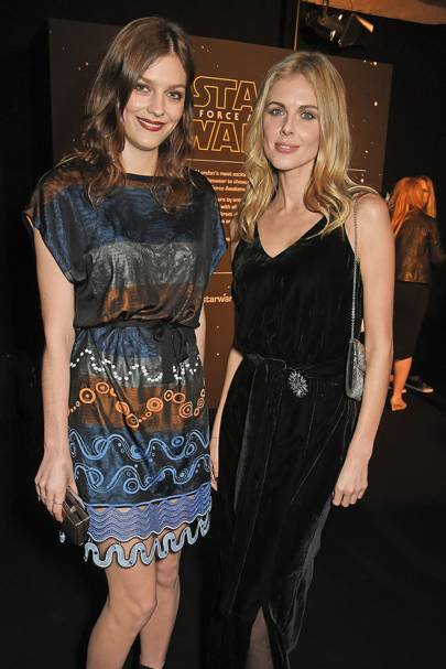Amber Anderson and Donna Air