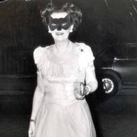 At a masked ball in 1971