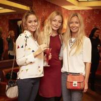 Florence Brudenell-Bruce, Clara Paget and Martha Ward