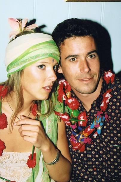 Sophia Dawnay and Henry Robson