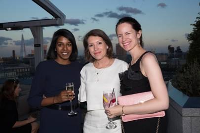 Mathura Premaruban, Stella Fox and Jo Hartley