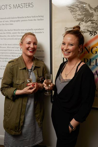 Wendy Aldridge and Emma Smyth