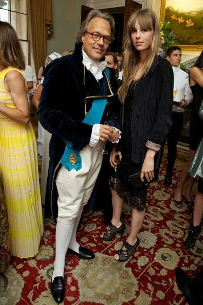 Lord March and Edie Campbell