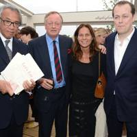 Sir David Tang, Andrew Parker Bowles, Lady Tang and Tom Parker Bowles