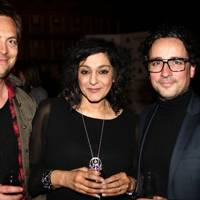 Stephen Campbell Moore, Meera Syal and Aidan McArdle