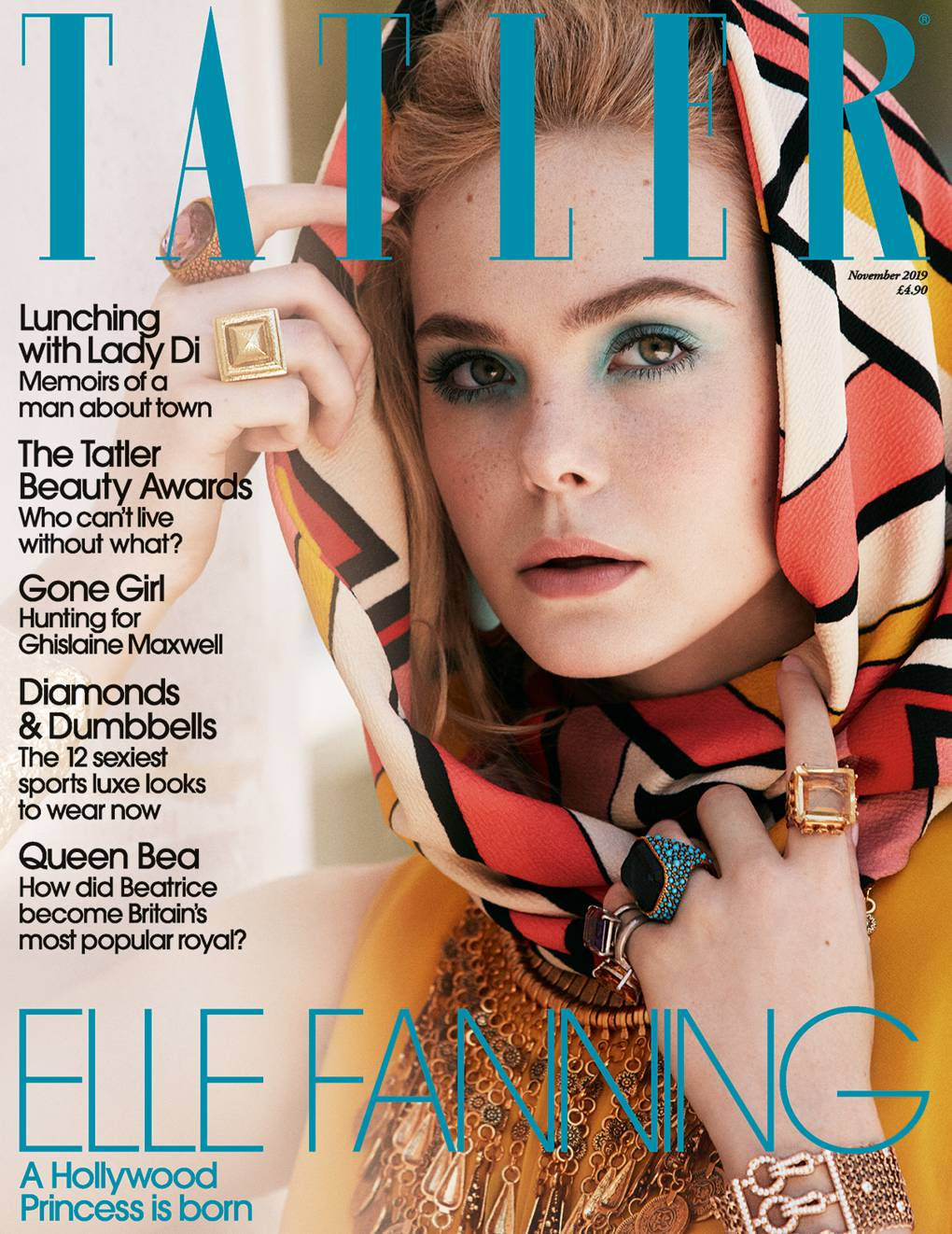Elle Fanning is the November cover
