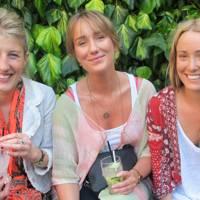 Francesca Grievson, Emi Gibbs and Emily Grievson