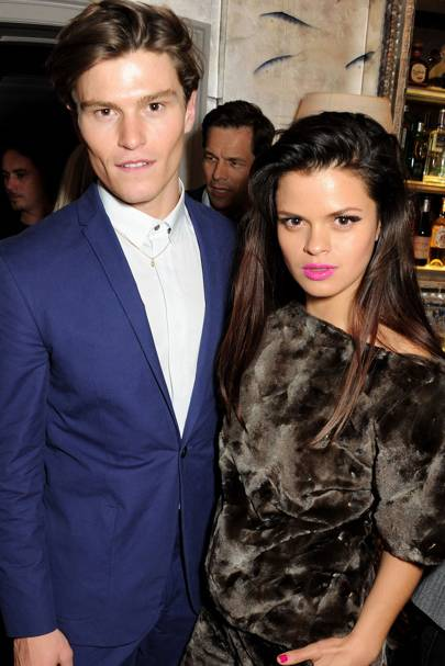 Oliver Cheshire and Bip Ling