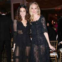 Julia Restoin Roitfeld and Lauren Santo Domingo