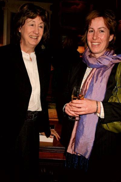 Countess De La Warr and Annabel Armstrong