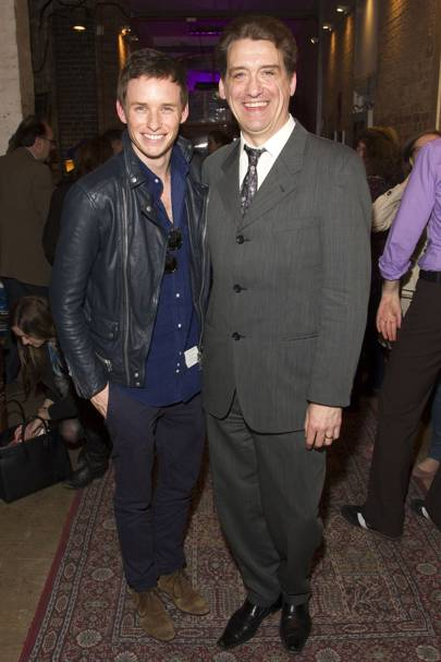 Eddie Redmayne and Simon Dormandy