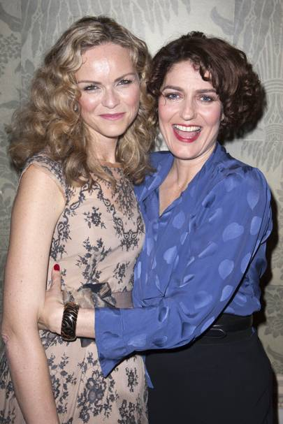Anna-Louise Plowman and Anna Chancellor