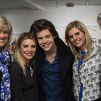Jackie Firth, Juliette Loughran, Harry Styles, Sarah Chelsom and Andy Firth