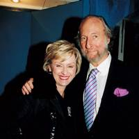 Tina Brown and Ed Victor