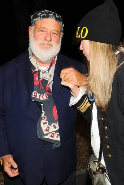 Cara Delevingne and Bruce Weber