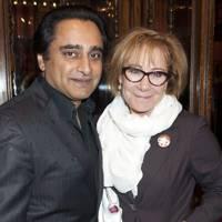 Sanjeev Bhaskar and Zoe Wanamaker