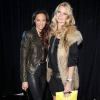Lilly Becker and Jodie Kidd