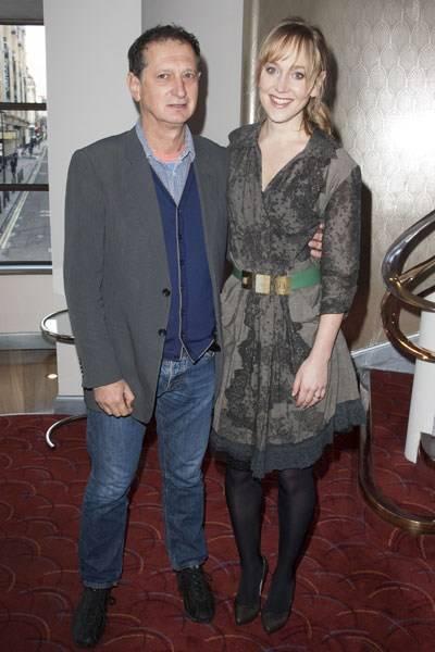 David Lan and Hattie Morahan