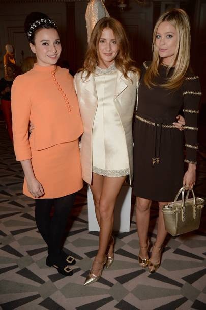 Gizzi Erskine, Millie Mackintosh and Laura Whitmore