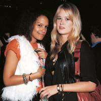Justine Wood and Eleanor Balfour