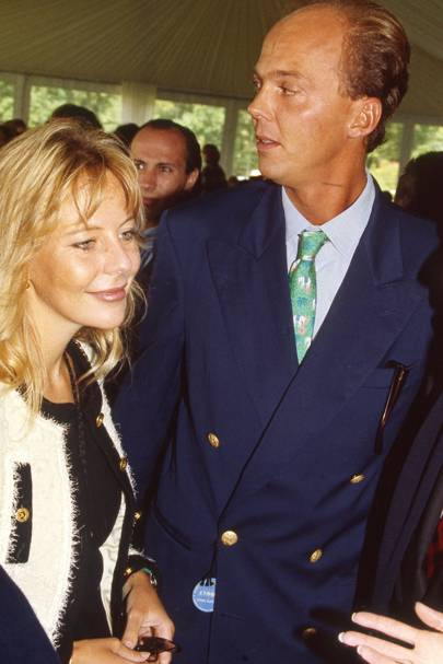 Vanessa von Zitzewitz and Prince Serge of Yugoslavia