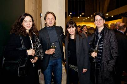 Natasha Goodfellow, Luciano Giubbilei, Henrietta Murray Wicks and Alexandra Noble